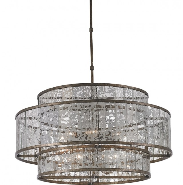 Florian Mercury Glass Chandelier