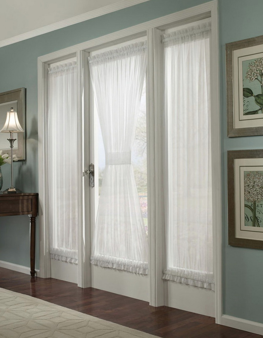 French Door Curtains Diy