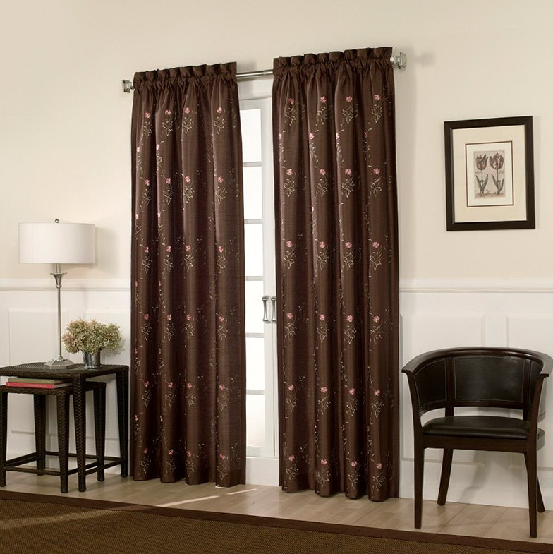 French Door Curtains Rods