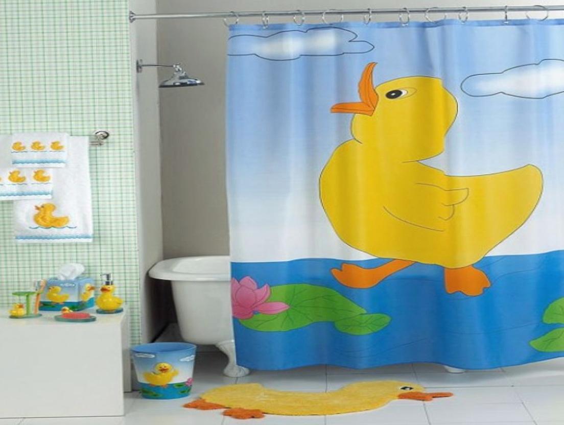 Fun Kids Shower Curtains