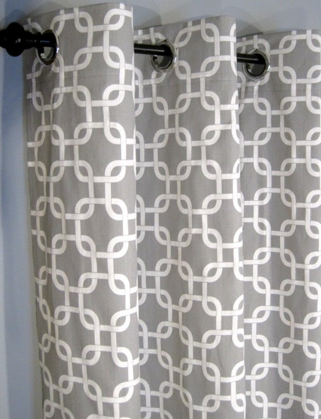 Grey And White Curtains Canada