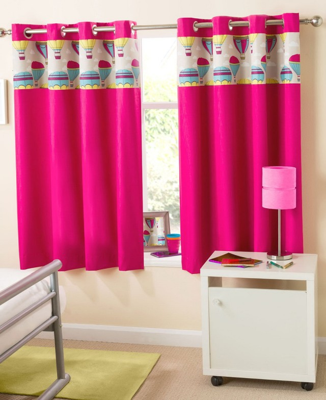 Hot Pink Blackout Curtains