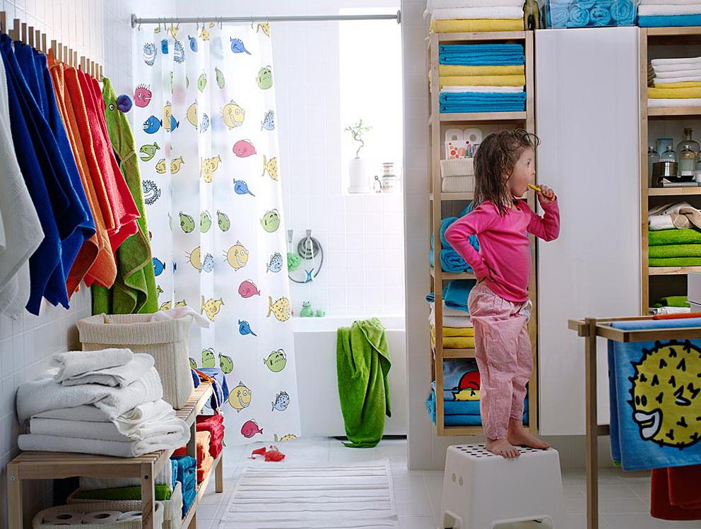 Ikea Shower Curtain Fish
