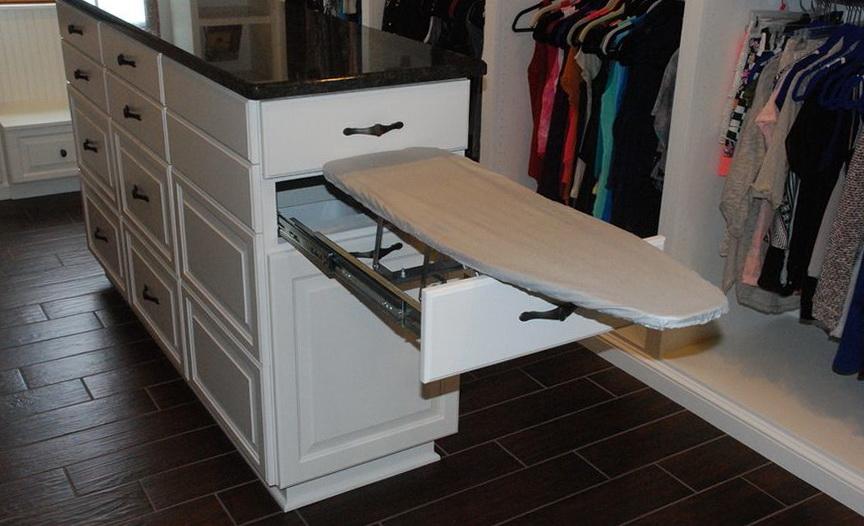 Ironing Board Closet Cabinet