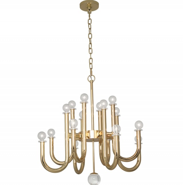 Jonathan Adler Meurice Rectangle Chandelier