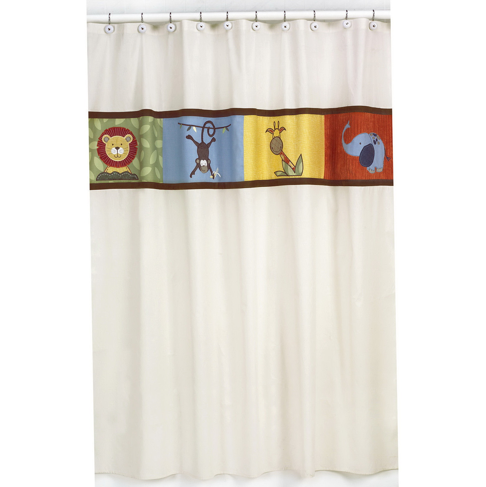 Kids Sports Shower Curtain