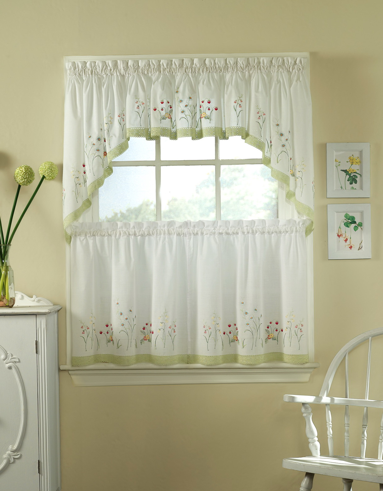 Kitchen Window Curtains Amazon