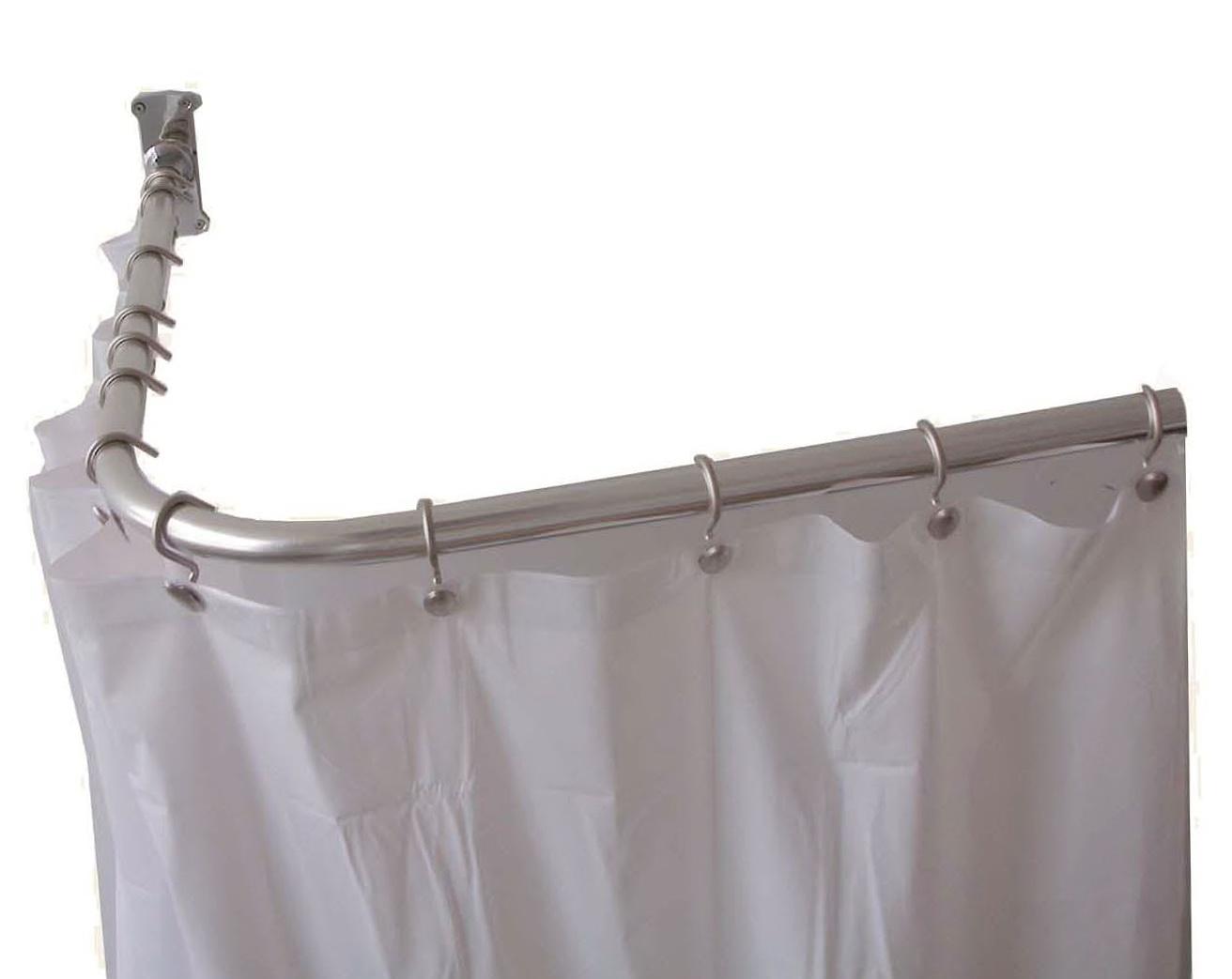 L Shaped Shower Curtain Rod Amazon