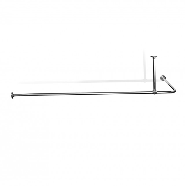 L Shaped Shower Curtain Rod Bed Bath And Beyond