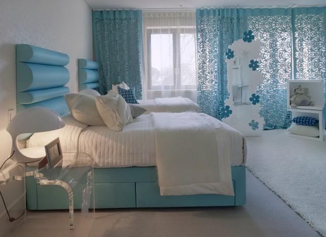 Light Blue Curtains Bedroom