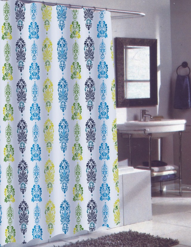 Long Shower Curtains 84