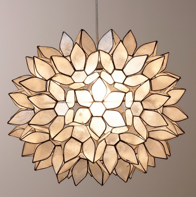 Lotus Flower Chandelier Lighting