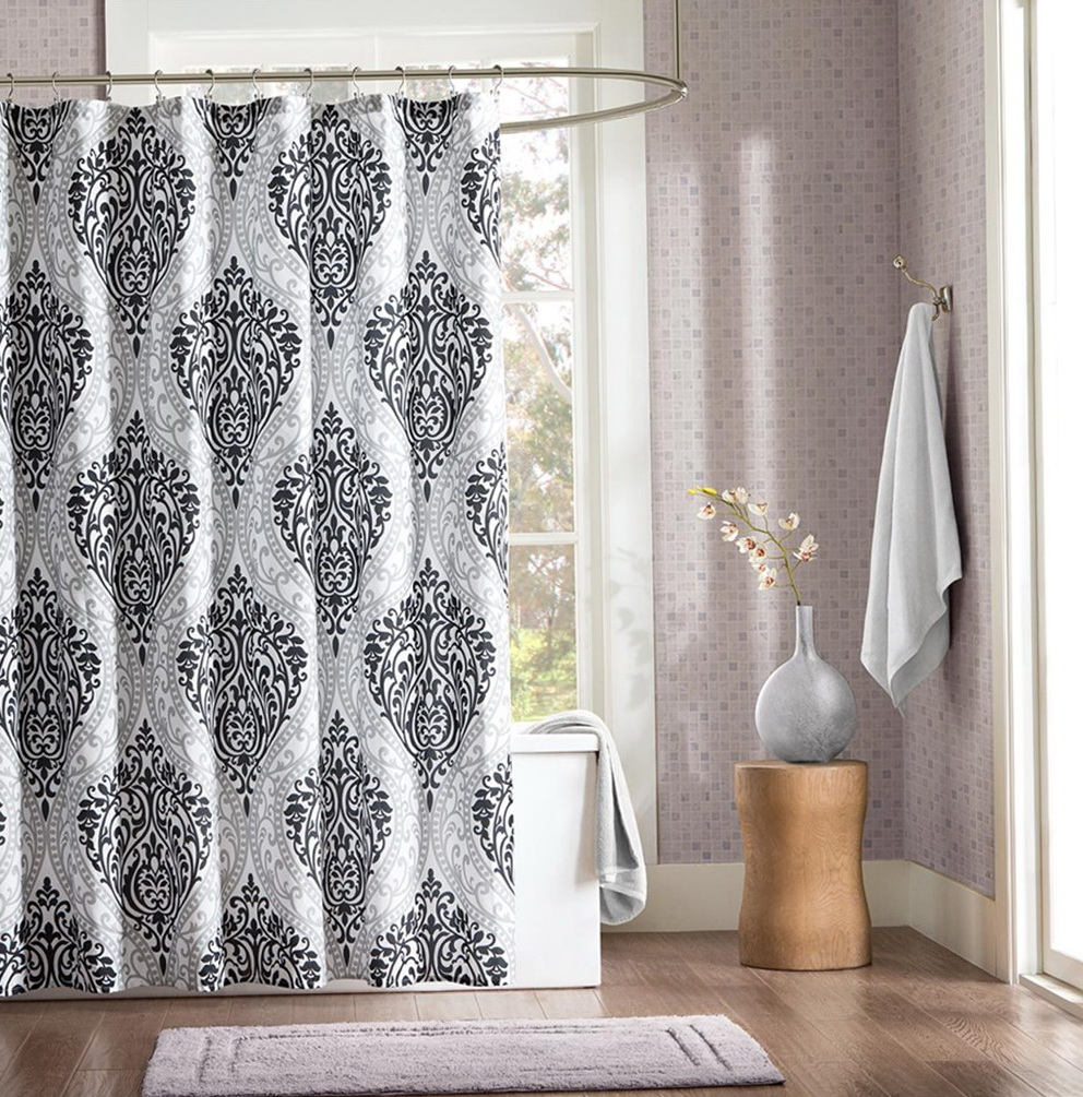 Luxury Shower Curtains Extra Long