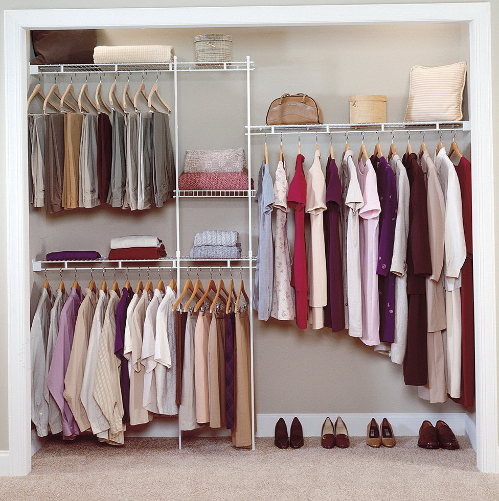 Metal Wardrobe Closet Home Organization