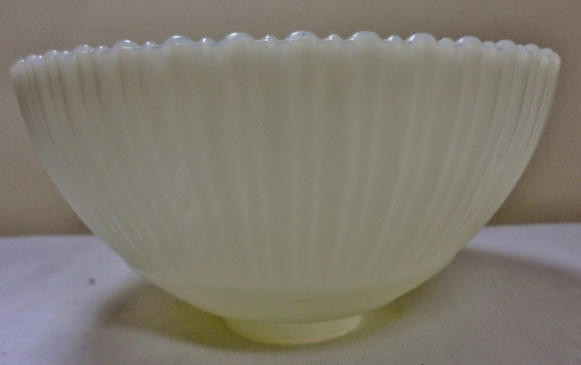 Milk Glass Chandelier Shades