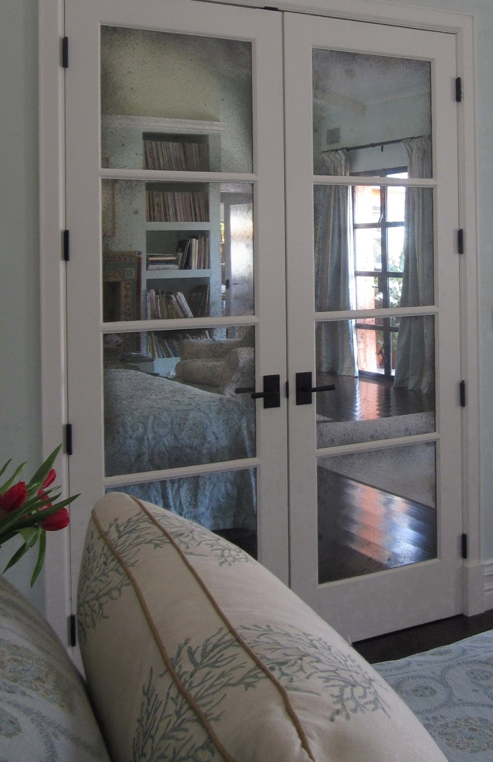 Mirrored French Closet Doors Home Depot