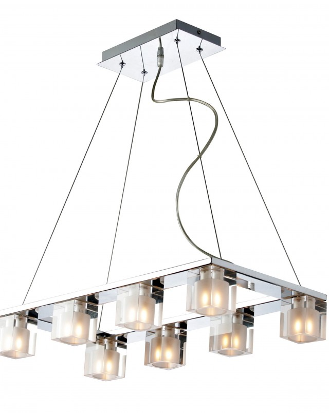 Modern Rectangular Chandelier Lighting