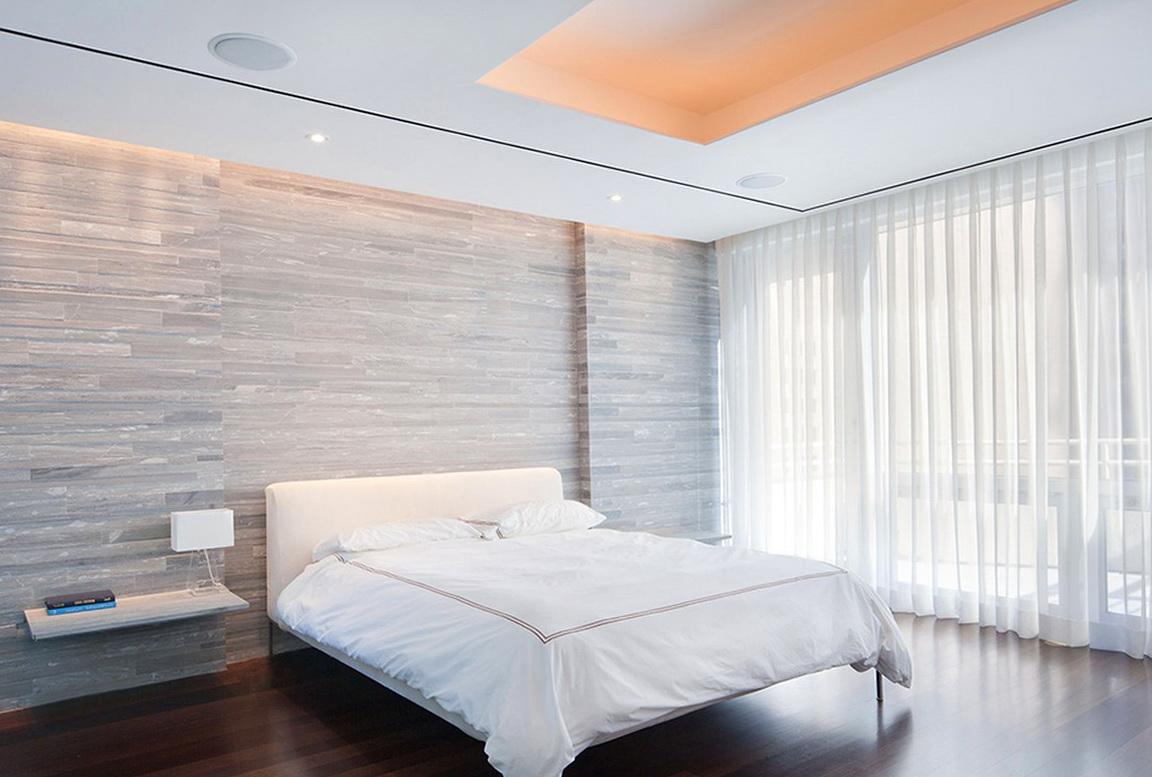 Modern White Sheer Curtains