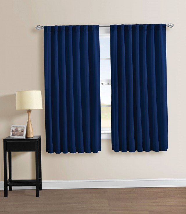 Navy Blue Curtains Ikea