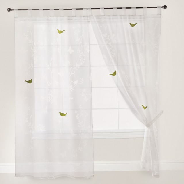 Off White Sheer Curtains