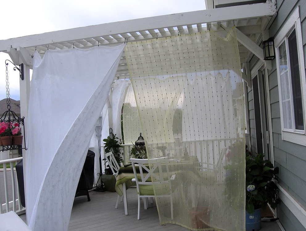 Outdoor Curtains For Patio Ideas