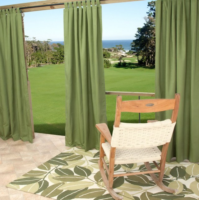 Outdoor Patio Curtains Sunbrella
