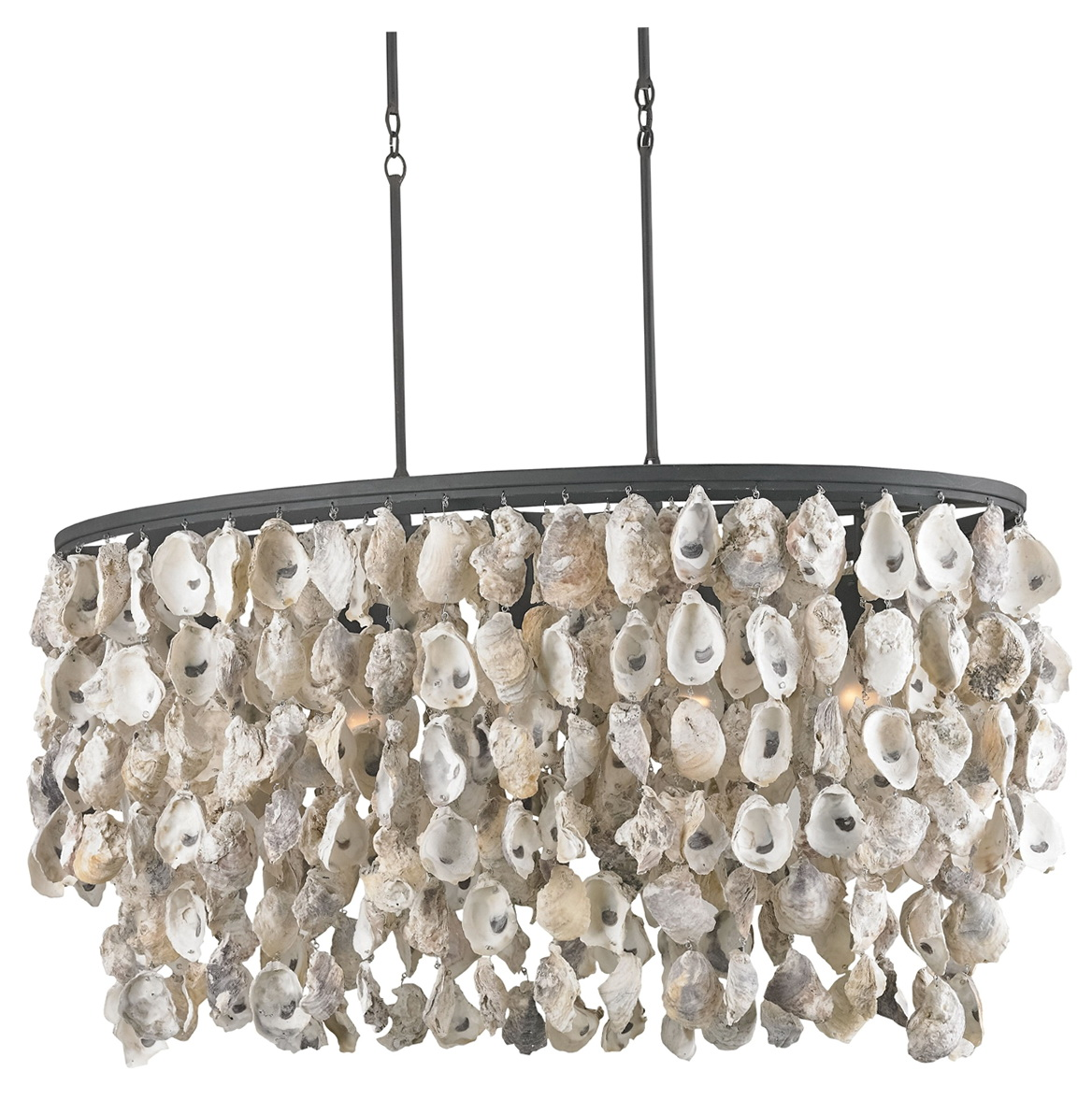 Oyster Shell Chandelier Diy