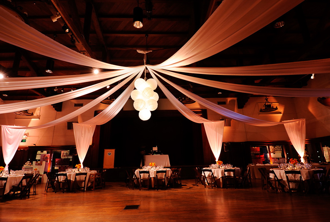 Paper Lantern Chandelier Wedding