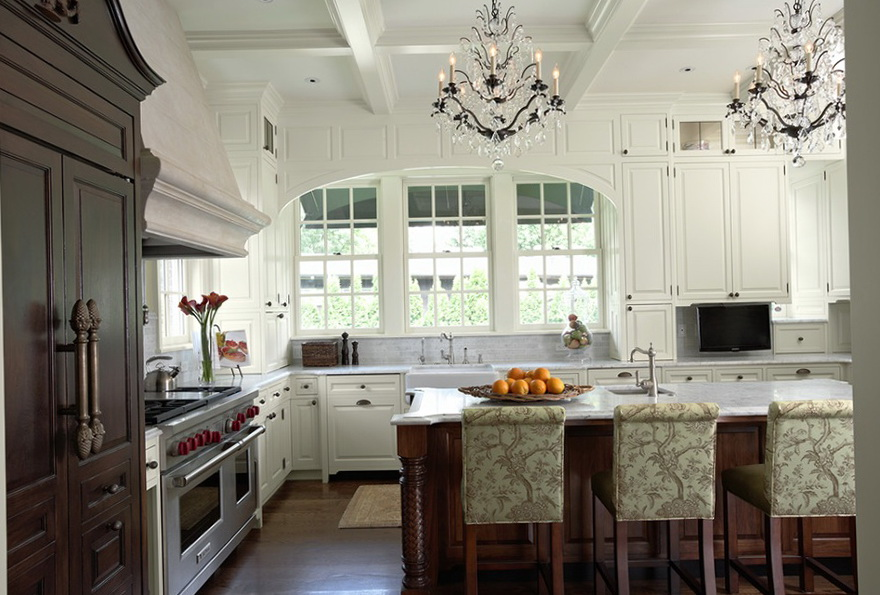 Pictures Of Chandeliers In Kitchens