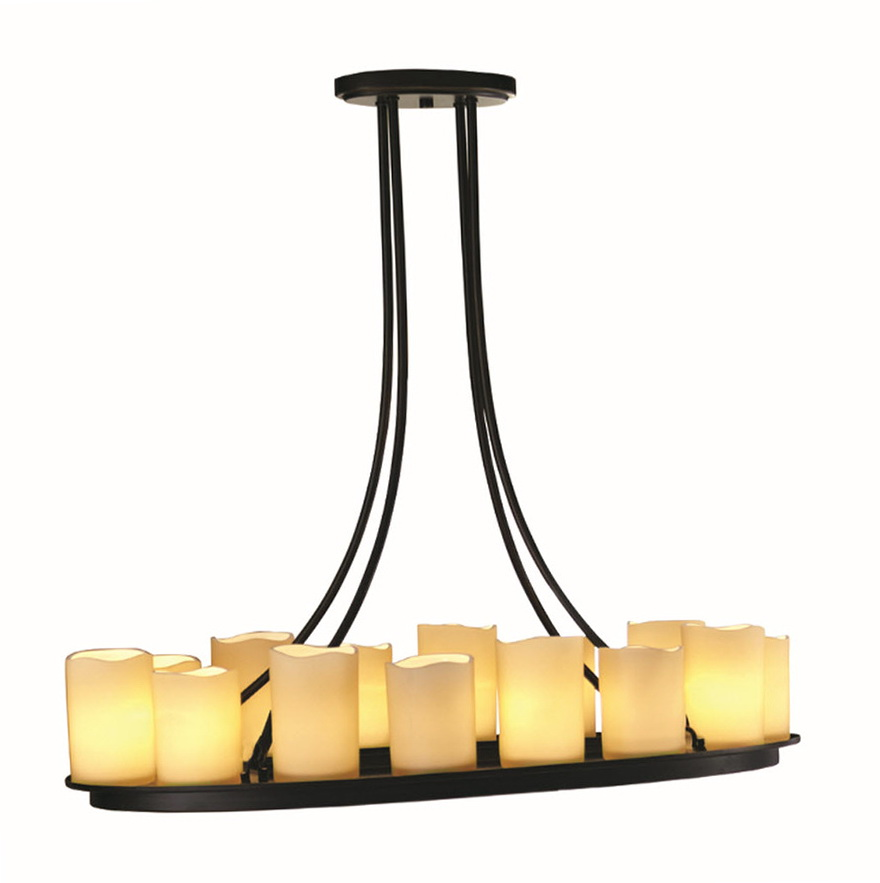 Pillar Candle Chandelier Lowes