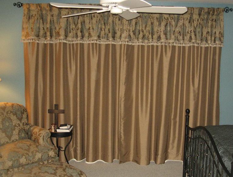 Pinch Pleat Curtains Bay Window
