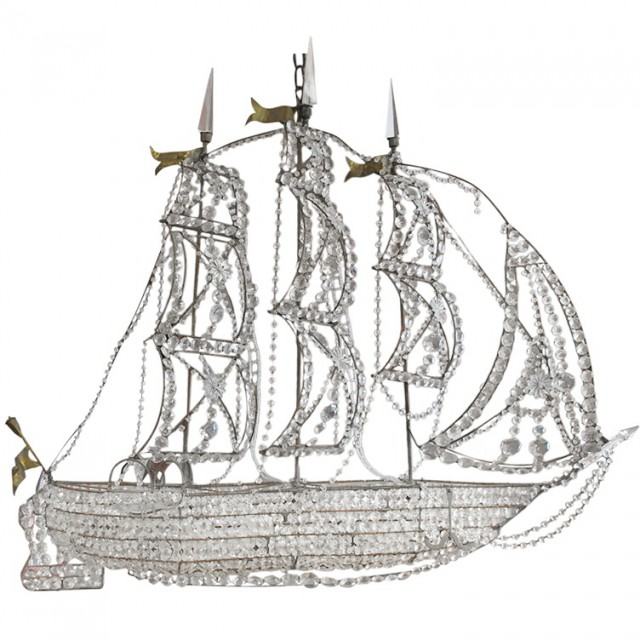 Pirate Ship Chandelier For Sale