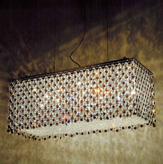 Rectangular Crystal Chandelier Uk