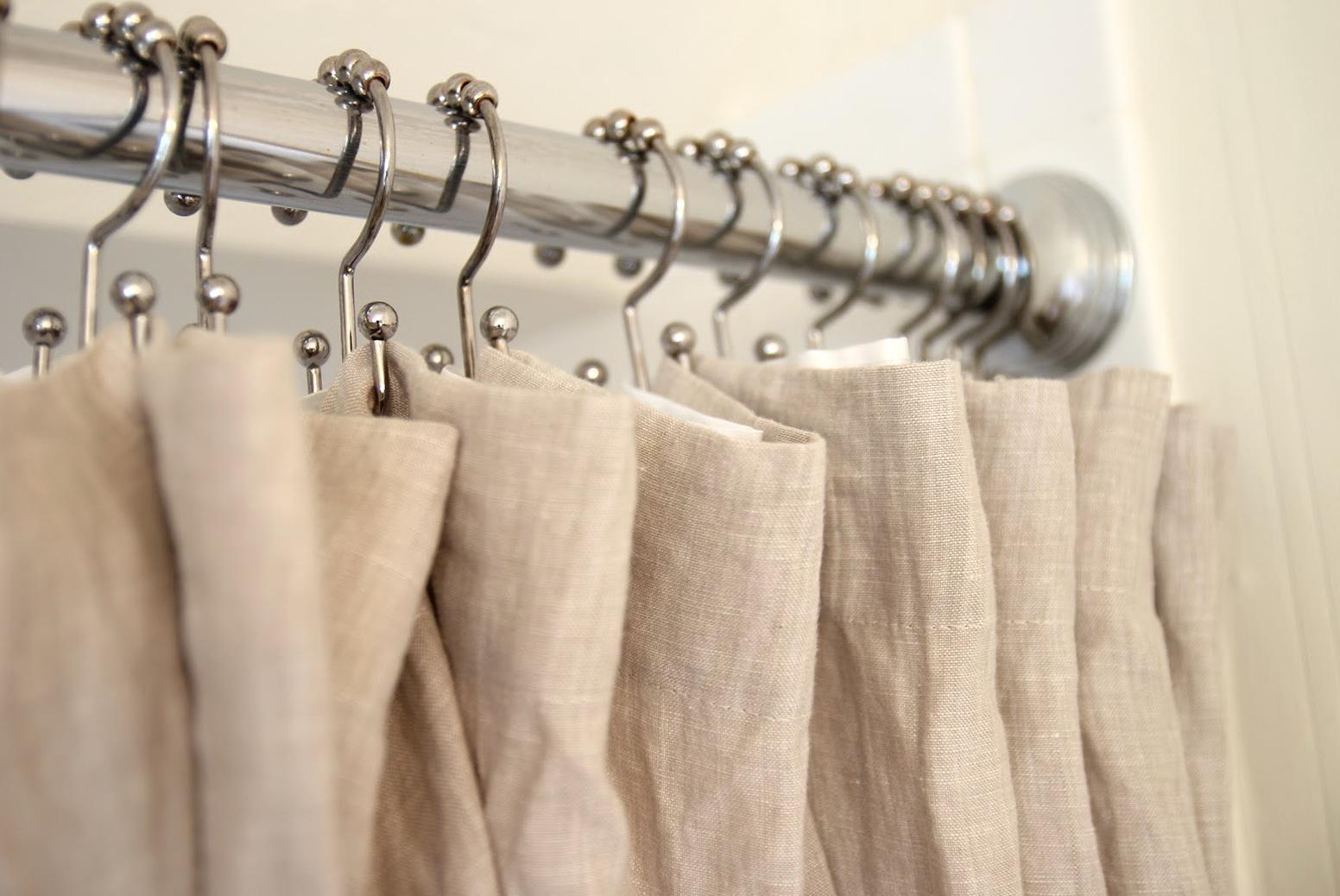 Restoration Hardware Shower Curtains