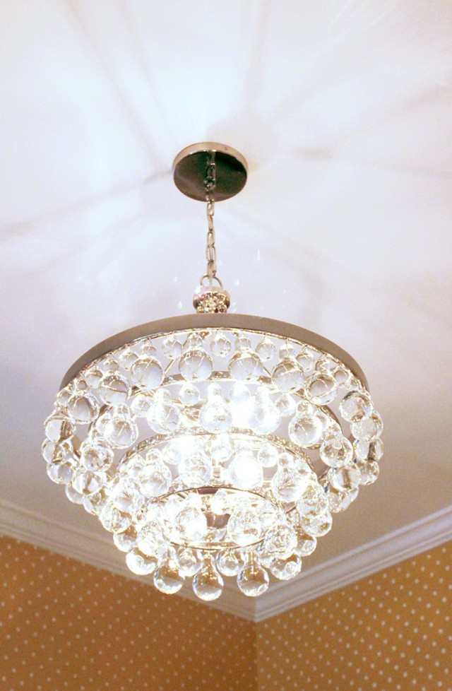 Robert Abbey Bling Chandelier Replica