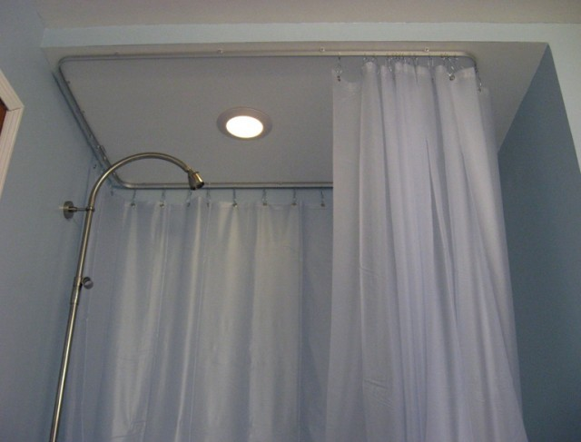 Round Shower Curtain Rod Target