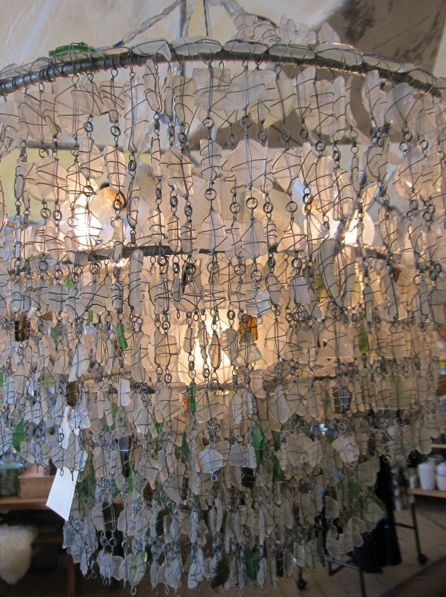 Sea Glass Chandelier Anthropologie