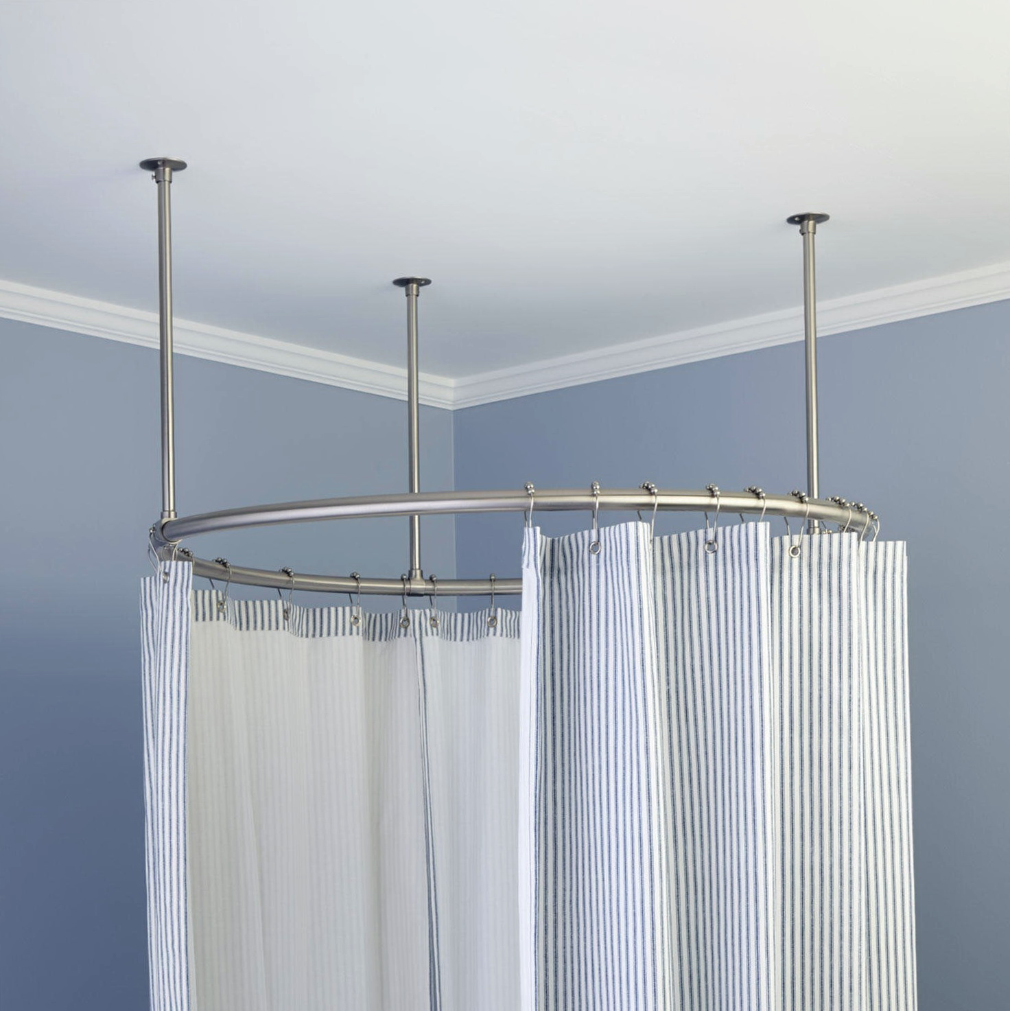 Shower Curtain Rods Circular