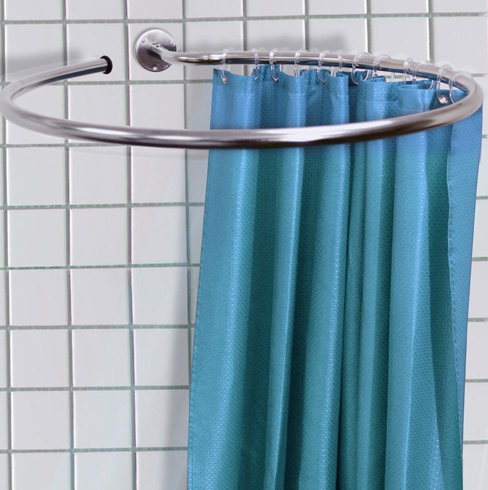 Shower Curtain Rods Round