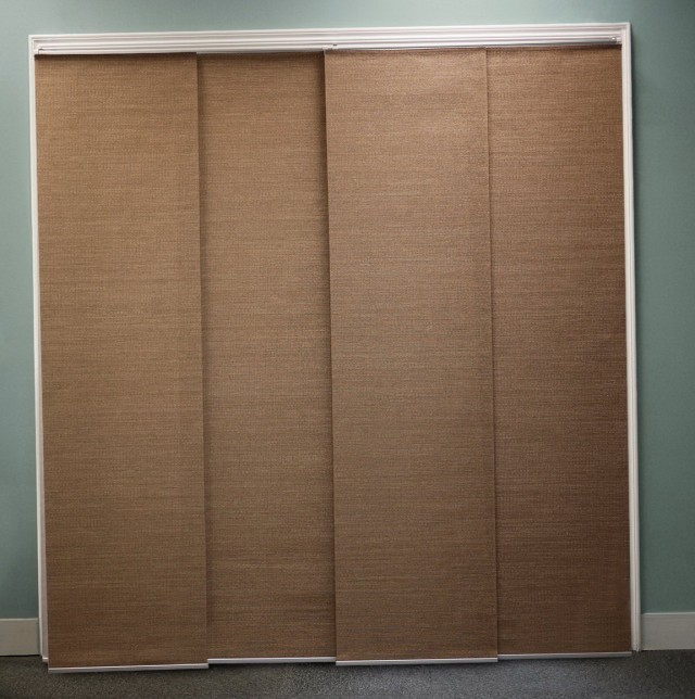 Sliding Door Curtains And Blinds