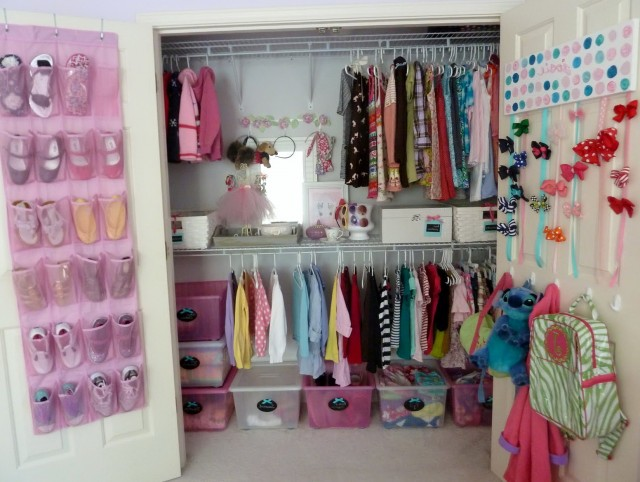 Small Closet Designs For Girls