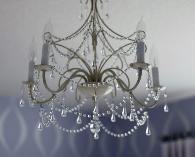 Small Crystal Chandelier For Nursery