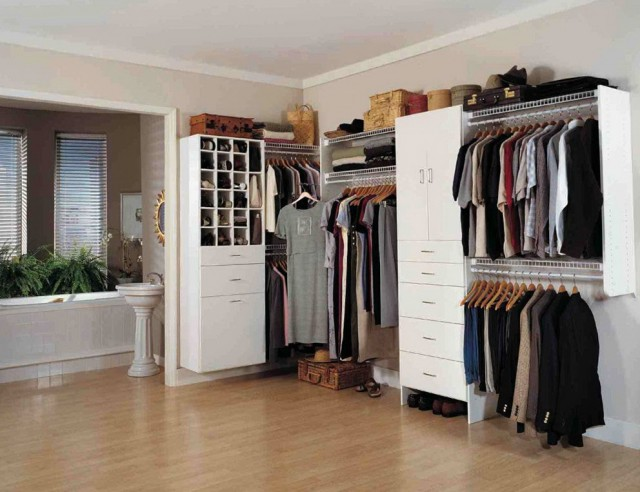 Small L Shaped Closet Design Ideas