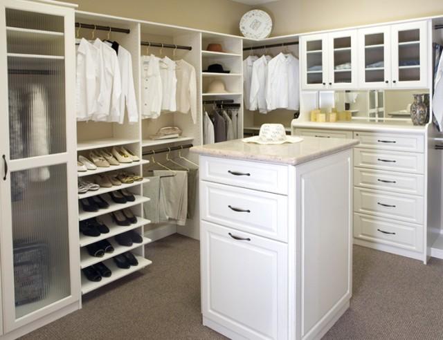 Small Master Closet Design