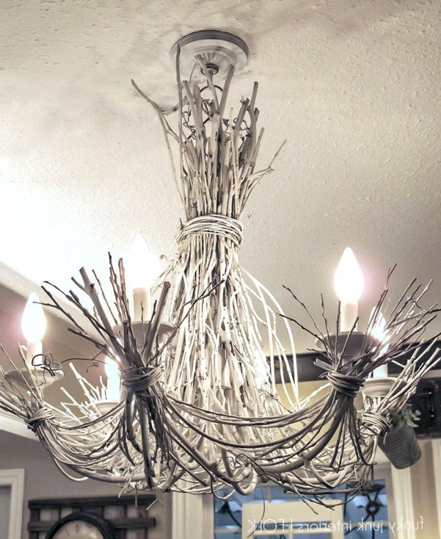 Tree Branch Chandelier Diy