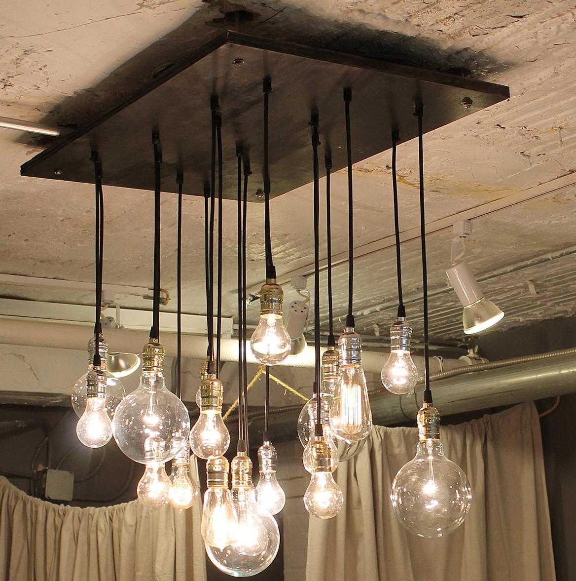 Vintage Edison Bulb Chandelier