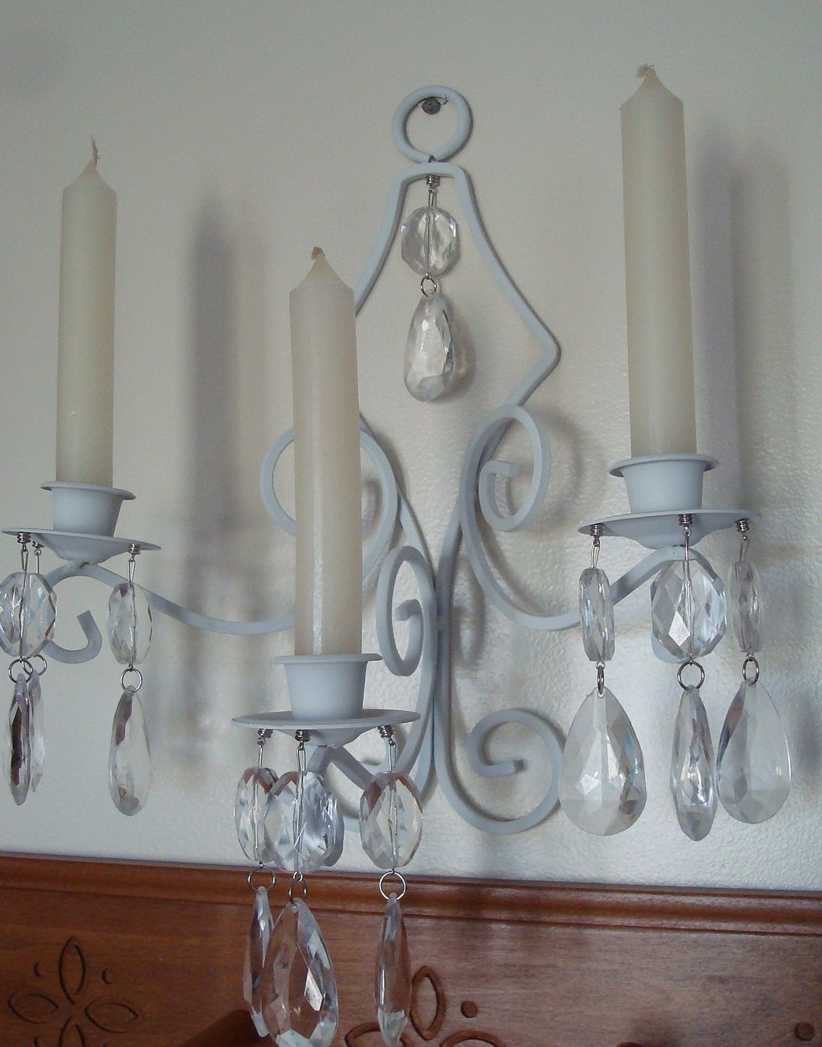 Wall Chandelier Candle Holder