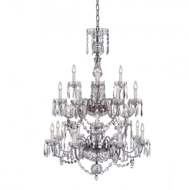 Waterford Crystal Chandelier 6 Arm