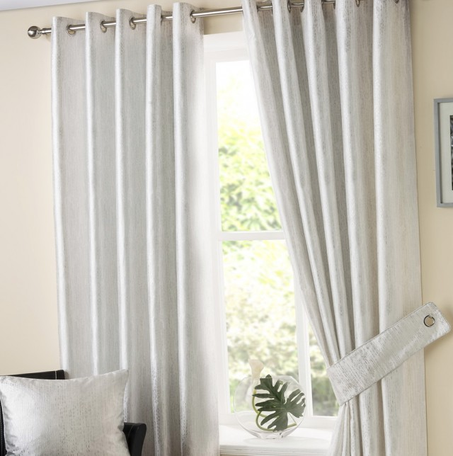 White Linen Curtains Uk