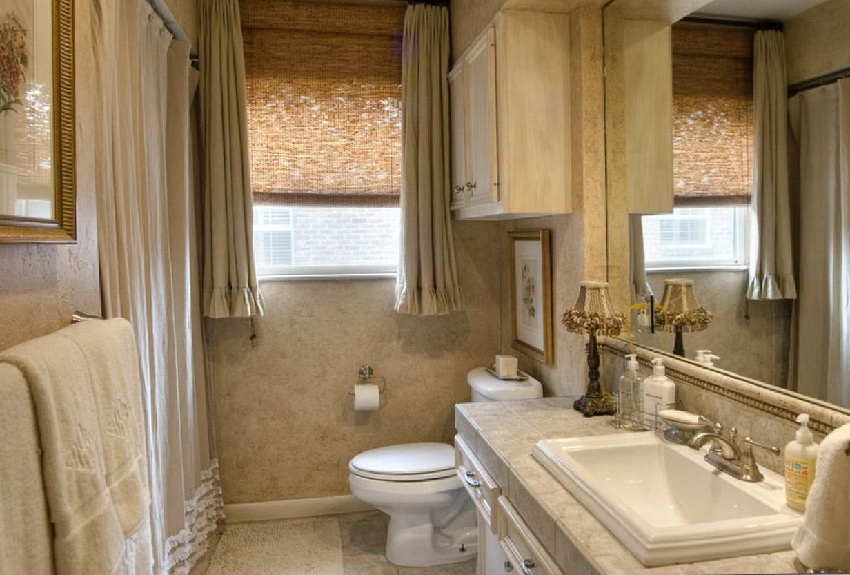 Window Curtain Ideas For Bathrooms